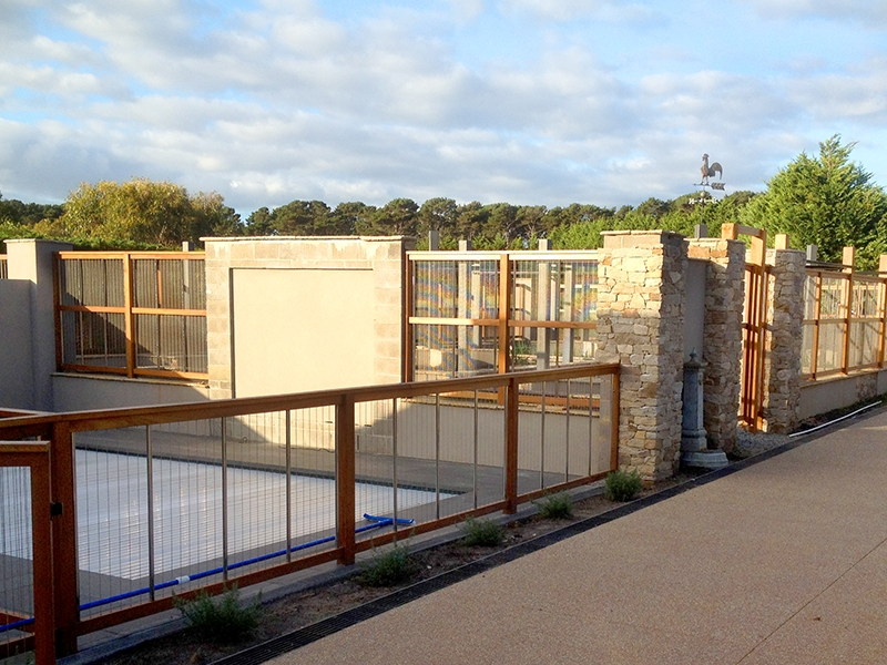 Timber Pool Fencing