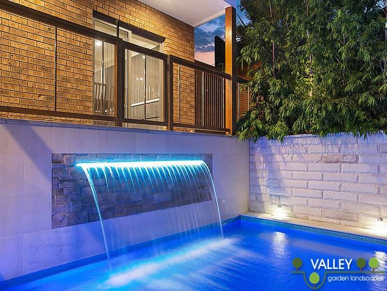 Sentrel Vertical Cable Pool Fencing. Timber: Spotted Gum