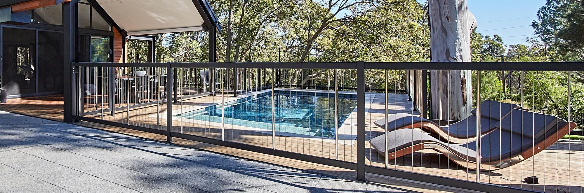 Sentrel Balustrades and Pool Fencing, Pool Fence No Handrail