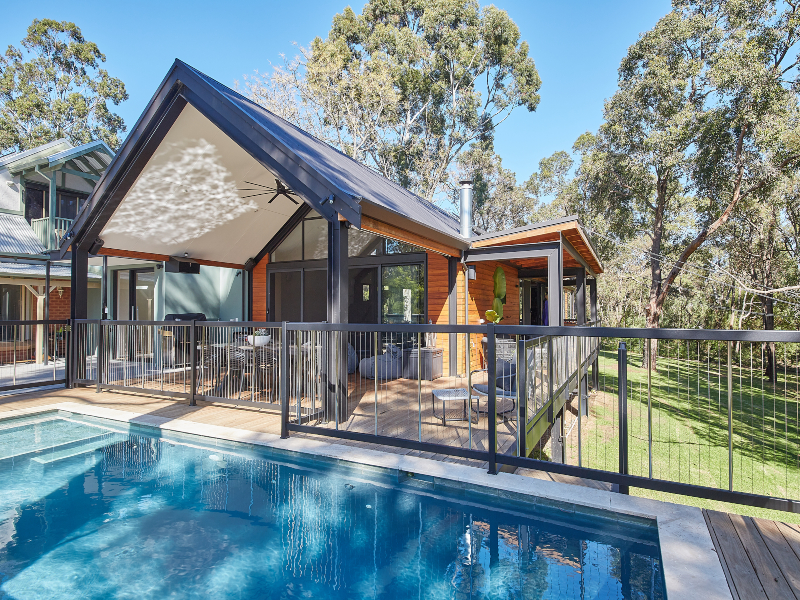 Sentrel Balustrade and Pool Fencing Aluminium Pool Fence No Handrail
